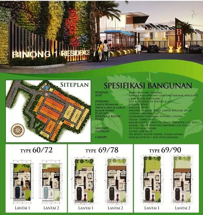 http://rumahtangerang.id Karawaci Tangerang rumah BINONG 1 brosur