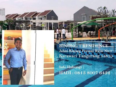 MARKETING BINONG 1 RESIDENCE HADI