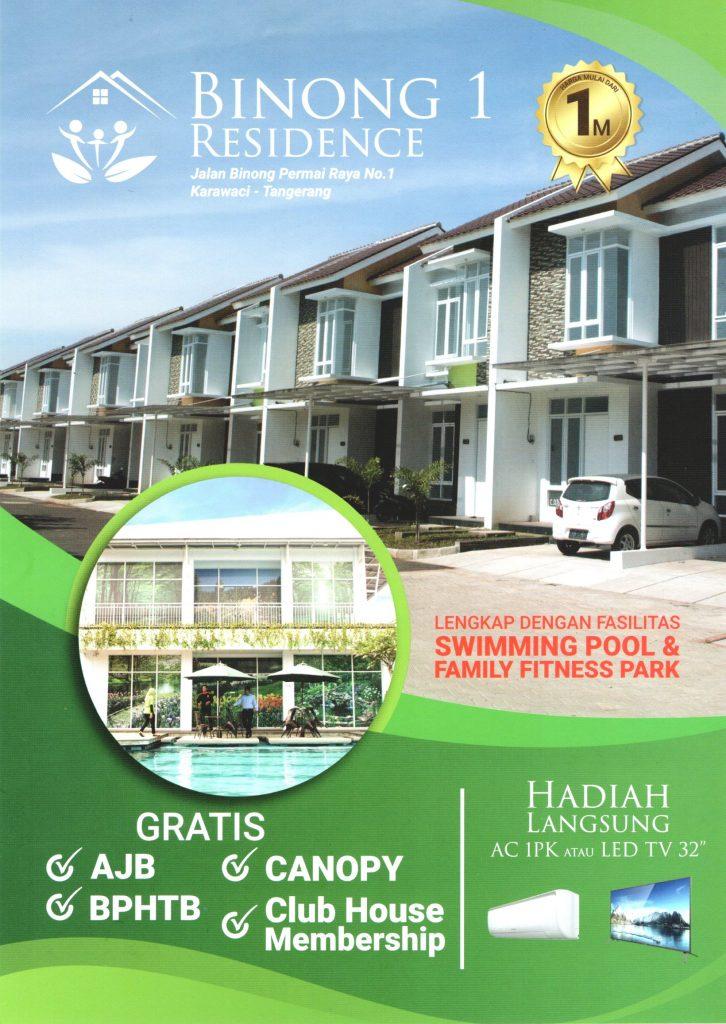 brosur Binong 1 Residence