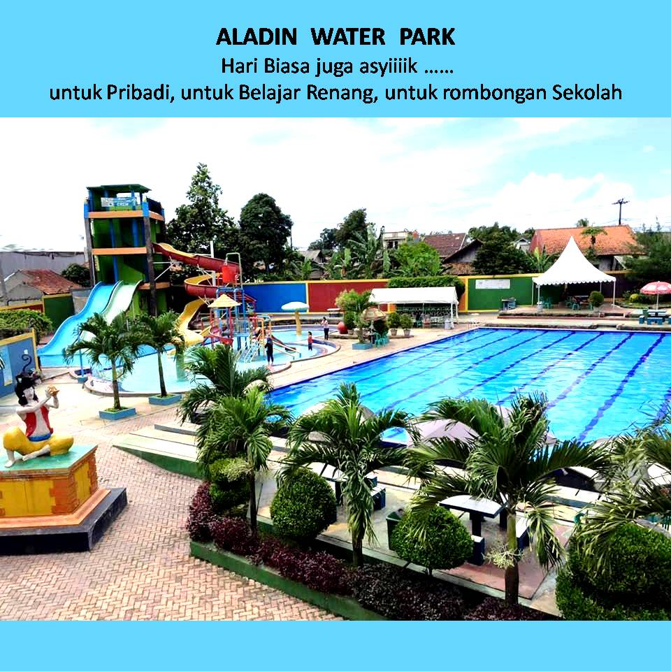 Aladin Aquaplay berada di jalan Raya Binong, Suka Bakti, Karawaci, Tangerang.