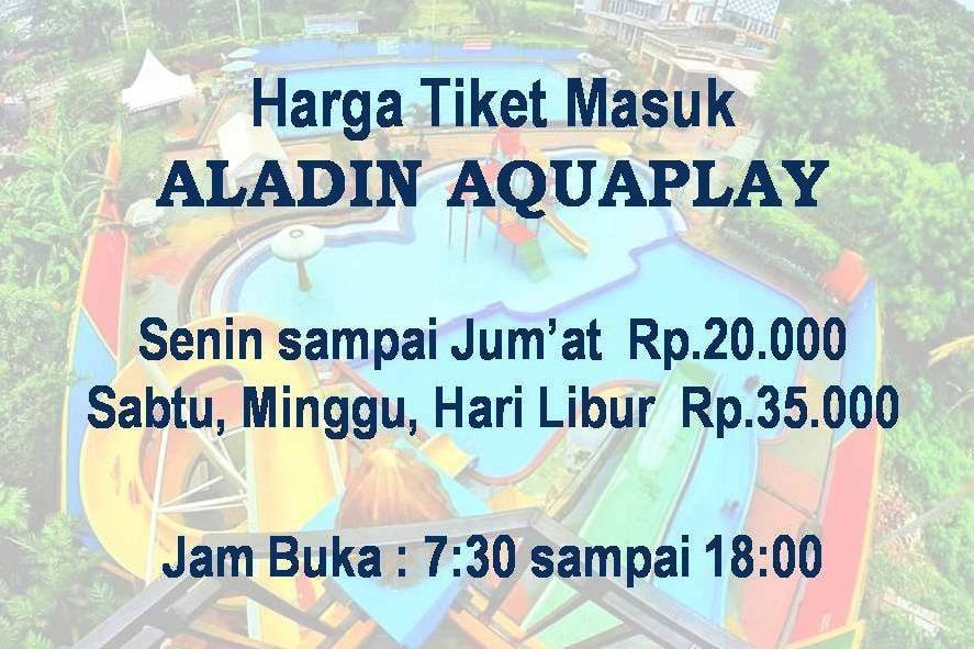 Harga Tiket Aladin Grand View